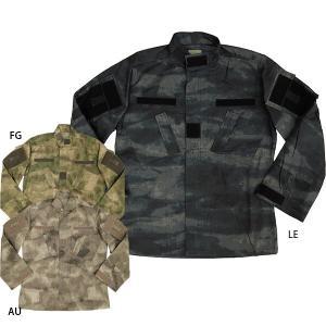 セール中 A-Tacs コンバットジャケット AU FG LE|seabees