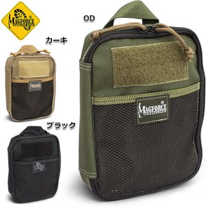 MAGFORCE #MF-0266 オーガナイザー 6x8 BLACK OD TAN|seabees