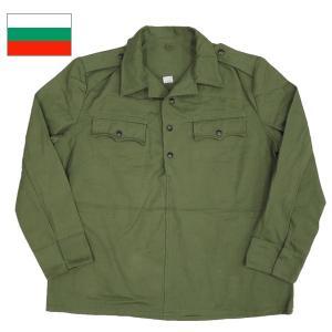 ブルガリア軍 プルオーバージャケット オリーブ|seabees