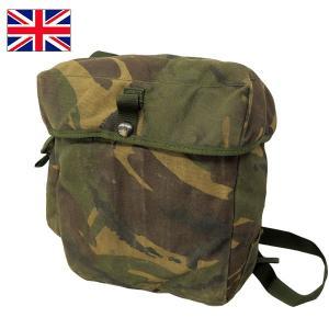 イギリス軍ガスマスクショルダーバッグ DPMカモ|seabees