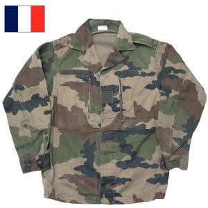 フランス軍 F2 ジャケット CCEカモフラージュ USED seabees