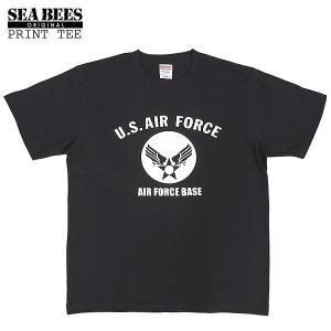 1点ならメール便可 オリジナルプリント 半袖Tシャツ 『A.F.BASE ミディアムロゴ』 【ブラッ...