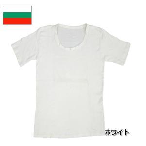 ブルガリア軍 Uネックアンダーシャツ 半袖 ホワイト|seabees
