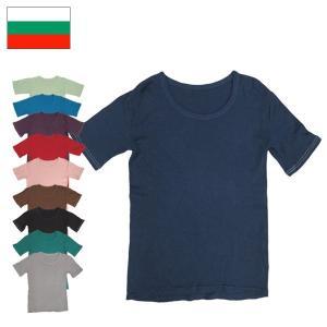 ブルガリア軍 半袖 アンダーシャツ 染め 10色|seabees