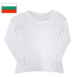 ブルガリア軍 Uネックアンダーシャツ 長袖 ホワイト|seabees