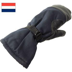 セール中 オランダ軍 ミトングローブ ネイビー|seabees