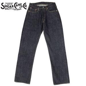 ノベルティープレゼント SUGAR CANE #SC41947A スタンダード デニム パンツ 421ワンウォッシュネイビー|seabees