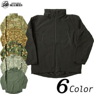 S.N.P. ソフトシェル ジャケット ブラック ウッドランド ACU マルチカモ フォリッジ ダックハント 【送料無料・北海道・沖縄・離島は別途送料追加】|seabees