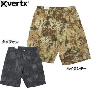 VERTX バーテックス #VTX7015 ◆Kryptek迷彩◆ クリプテック ショートパンツ タイフォン ハイランダー 日本正規販売店|seabees