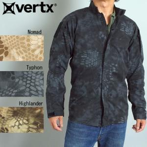 VERTX バーテックス #VTX8220K クリプテック ガンファイターシャツ vertx KRYPTEK GUNFIGHTER SHIRT ミリタリージャケット ミリタリーシャツ サバゲー|seabees