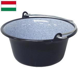 ハンガリー軍 ホーロー鍋 4L デッドストック|seabees