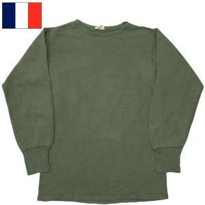 フランス軍 スウェットシャツ オリーブ USED seabees