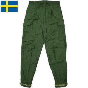 セール中 スウェーデン軍 M-59パンツ ジッパーフライ デッドストック seabees