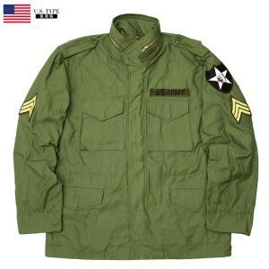 YMCLKYオリジナル 米軍タイプ M-65 フィールドジャケット ジョンレノンModel オリーブ 【送料無料・北海道・沖縄・離島は別途送料追加】 seabees