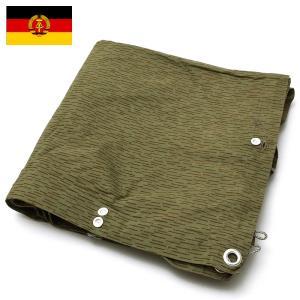 東ドイツ軍 レインドロップカモ テントシート USED|seabees