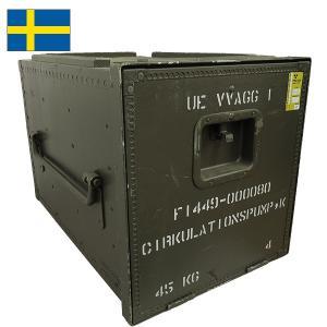 セール中 スウェーデン軍メディカルウッドボックス 40x42x62cm レール無し seabees