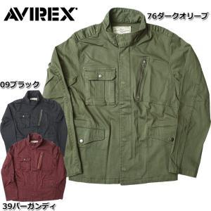 セール中 AVIREX #6152188 ストレッチ M-65 ジャケット 【日本正規販売店】 AVIREX/アビレックス/avirex/アヴィレックス|seabees