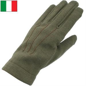 セール中 メール便OK イタリア軍 AF ウール グローブ オリーブ デッドストック|seabees