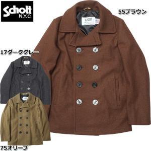 ノベルティープレゼント Schott #7118 SCH−753 US Pコート 24oz 【日本正規販売店】 返品・交換不可【TKA】 seabees