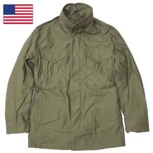 セール中 米軍 M-65 フィールドジャケット オリーブ デッドストック 【送料無料・北海道・沖縄・離島は別途送料追加】 seabees
