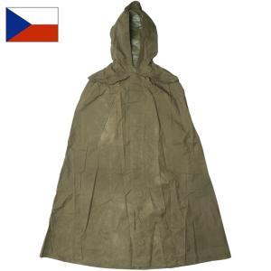 セール中 チェコ軍 レインポンチョ USED|seabees