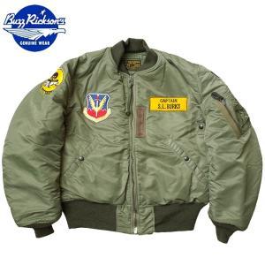 セール中 BUZZ RICKSON'S #BR13895 MA-1 フライトジャケット 『613th Tac.Fighter Squadron』 【送料無料・沖縄・離島除く】バズリクソンズ|seabees