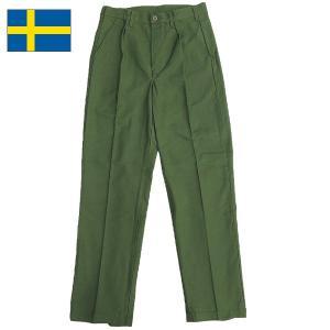 スウェーデン軍 ユーティリティパンツ デッドストック seabees