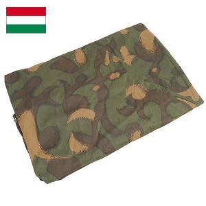 ハンガリー軍 テントシート カモ デッドストック|seabees