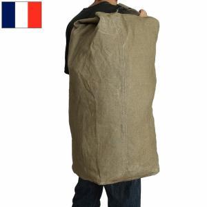 フランス軍 ダッフルバッグ リネン USED良品 seabees