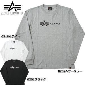 ALPHA社 #TC1319 長袖 プリント Tシャツ 『HFA』 メンズ 全3色 S-XL【TKA】 seabees