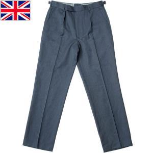 イギリス軍 ドレスパンツ ネイビー USED|seabees