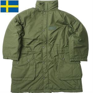 ノベルティープレゼント スウェーデン軍 M90 コールドウェザーパーカー オリーブ デッドストック JP091NN seabees