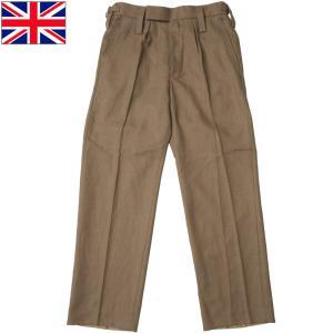 イギリス軍 ドレスパンツ ブラウン デッドストック PP243NN|seabees
