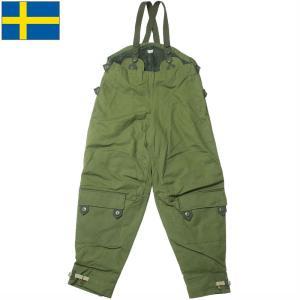 スウェーデン軍 モーターサイクルパンツ ライナー付き グリーン デッドストック PP270NN seabees