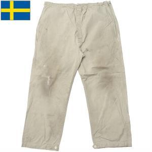 スウェーデン軍 M-62 スノーカモパンツ USED PP264UN seabees