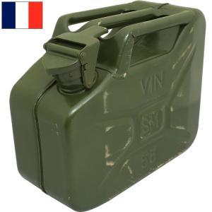 フランス軍 ワイン缶 10L オリーブ デッドストック BX175NN|seabees