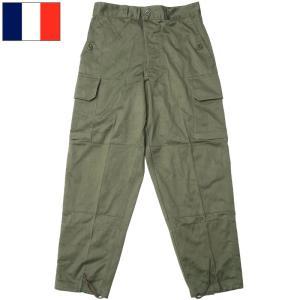 フランス軍 M64 フィールドパンツ オリーブ デッドストック PP272NN seabees