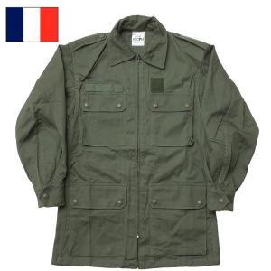 フランス軍 AF フィールドジャケットHBT デッドストック seabees