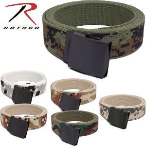セール中 メール便OK ロスコ・Rothco 米軍タイプ コットンベルト カモ柄 メール便対応|seabees