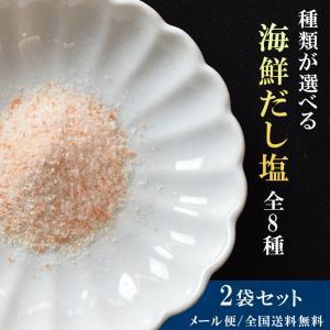 塩 海鮮 だし 2袋セット 選べる 9種類|seafoodhonpo88
