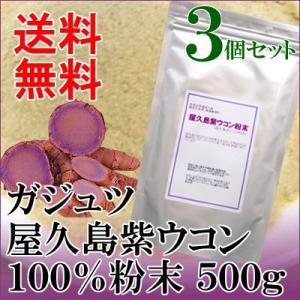 屋久島 紫ウコン(ガジュツ)粉末500g×3|seagull