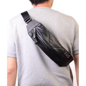 ウエストバッグ  メンズ SEAL 藤倉航装コラボ/ボディバッグ AIR MODEL ショルダーバッグ 防水 本革 日本製|seal-store