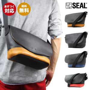 SEAL(シール)ショルダーバッグ/プレーンショルダーバッグ【seal バッグ/防水・耐水/廃タイヤ/タイヤチューブ/日本製/メンズ/黒】【送料無料】【あすつく】|seal-store
