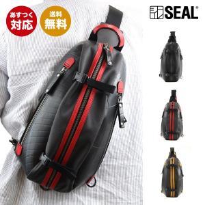 SEAL(シール)ボディバッグ/スリングバッグ【seal バッグ/防水・耐水/廃タイヤ/タイヤチューブ/人気/日本製/メンズ/黒】【あすつく】|seal-store