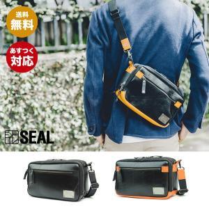 SEAL(シール)ショルダーバッグ/トラベルミニショルダーバッグ【seal バッグ/防水・耐水/廃タイヤ/タイヤチューブ/人気/日本製/メンズ/黒】【あすつく】|seal-store