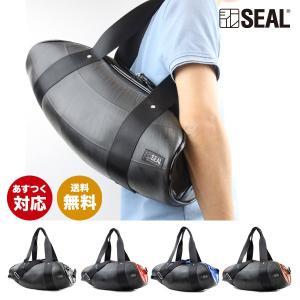SEAL(シール)ボストンバッグ/ボストンバッグ sports【seal バッグ/防水・耐水/廃タイヤ/タイヤチューブ/人気/日本製/メンズ/黒】【あすつく】|seal-store