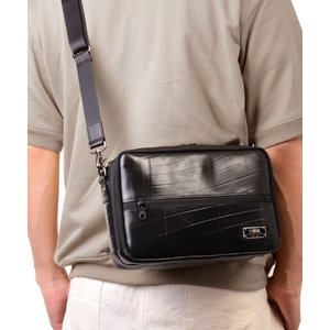 トラベルショルダーウォレット ショルダーバッグ メンズ SEAL サコッシュ 財布 防水 本革 日本製|seal-store