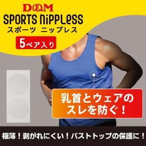 マラソンなどのスポーツ時、ウェアとの摩擦で乳首が傷つく事を防ぐニップレスです。 表面がツルツルとした...