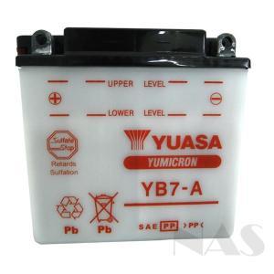 海外ユアサ YUASA バイクバッテリー YB7-A 互換 12N7-4A GM7Z-4A FB7-A ZX7-A 液付属 1年保証|sealovely777