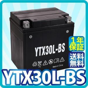 バイク バッテリー YTX30L-BS 充電・液注入済み (...